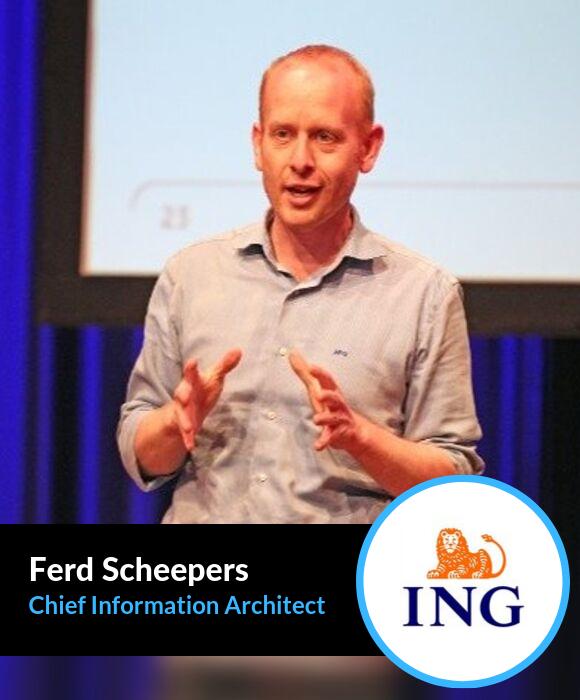 Ferd Scheepers, Chief Information Architect at ING